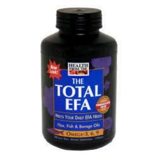 Health From The Sun Total EFA, 180 Softgels
