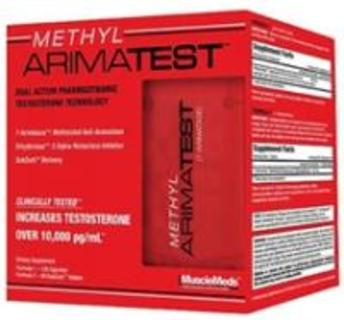 Muscle Meds Methyl Arimatest, 72 Servings