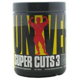 Universal Nutrition Super Cuts 3, 130 Tablets