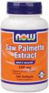 NOW Foods Saw Palmetto 160 mg. per gel, 240 Softgels