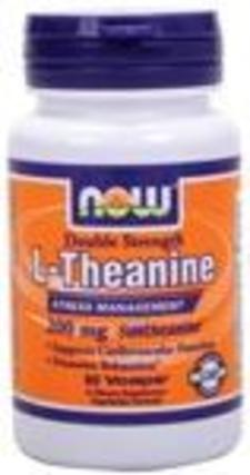 NOW Foods L-Theanine 200 mg. per capsule by NOW Foods