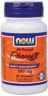NOW Foods Phase 2, 60 Vegi Capsules