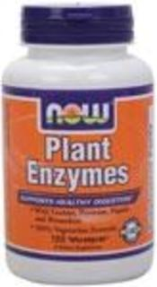 NOW Foods Plant Enzymes, 120 Vegi Capsules
