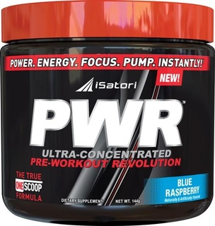 iSatori PWR  Ultra-Concentrated Pre-Workout Revolution by iSatori, 30 Servings