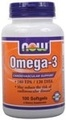 NOW Foods Omega-3, 100 Softgels