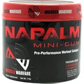 Muscle Warfare Napalm Mini-Gun, 30 Servings