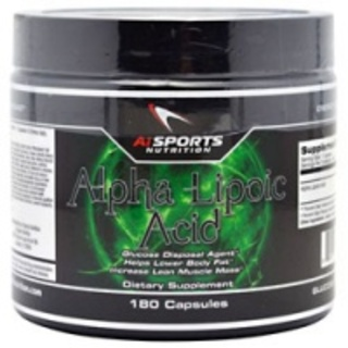 AI Sports Alpha Lipoic Acid by AI Sports, 180 Capsules