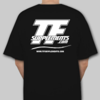 TFSupplements TFSupplements T-Shirt (Black), Large Flavor