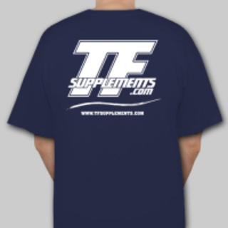 TFSupplements TFSupplements T-Shirt (Blue), X-Large Flavor