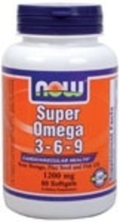 NOW Foods Super Omega 3-6-9 1200 mg. per gel, 90 Softgels