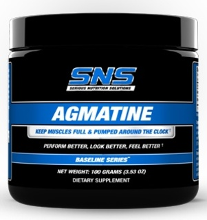SNS Agmatine Powder by SNS, 100 Grams