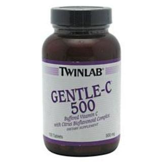 Twinlab GENTLE C 500, 100 Tablets
