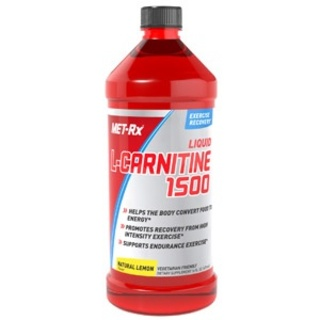MET-RX Liquid L-Carnitine 1500, 16 Fluid Ounces