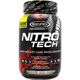 Muscletech Performance Series Nitro-Tech, 2 Pounds