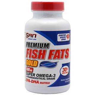 SAN Nutrition Fish Fats Gold, 120 Softgels