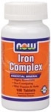 NOW Foods Iron Complex Vegetarian by NOW Foods