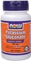 NOW Foods Potassium Gluconate 99 mg. per tablet, 100 Tablets