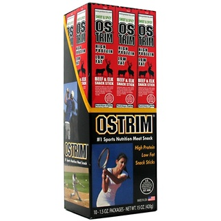 Ostrim Beef/Elk Stick, 10 Packets