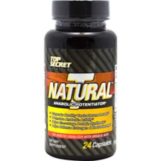 Top Secret Nutrition Natural T, 24 Capsules