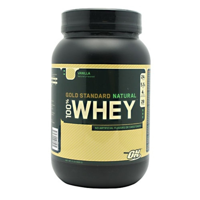 cb8997b79 100% Natural Whey Gold Standard 2 LB by Optimum - TFSupplements.com