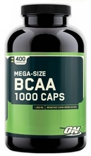 Optimum Nutrition BCAA 1000 by Optimum Nutrition, 400 Capsules