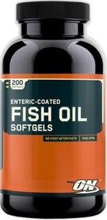 Optimum Nutrition Fish Oil, 200 Capsules
