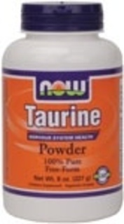 NOW Foods Taurine Powder, 8 Ounces