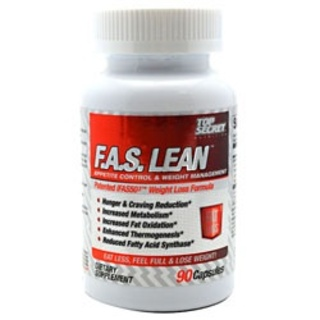 Top Secret Nutrition F.A.S. Lean, 90 Capsules