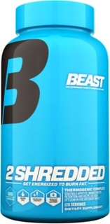 Beast Sports 2 Shredded by Beast Sports Nutrition, 120 Capsules