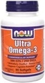 NOW Foods Ultra Omega-3, 90 Softgels