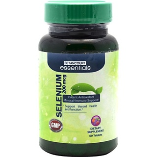 Betancourt Essentials Selenium, 60 Tablets