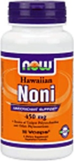 NOW Foods Noni 450 mg Hawaiian, 90 Vegi Capsules