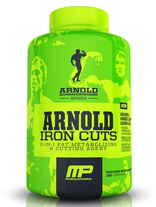 Arnold by Musclepharm Iron Cuts by Arnold by Musclepharm