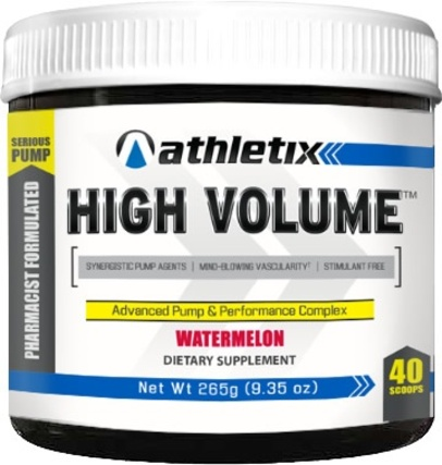 Athletix Nutrition High Volume by Athletix Nutrition