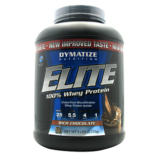 Dymatize Elite Whey Protein, 5 Pounds