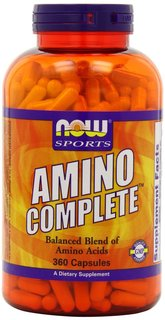 NOW Foods Amino Complete, 360 Capsules