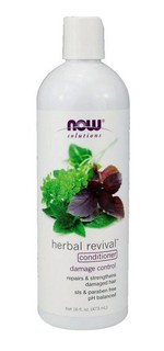 NOW Foods Natural Herbal Revival Conditioner, 16 Fluid Ounces