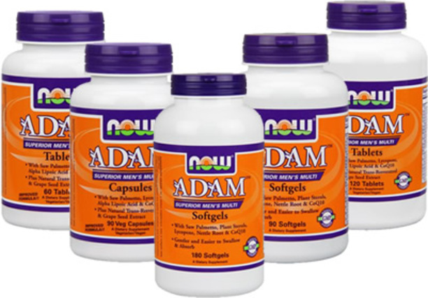 NOW Foods ADAM Superior Men's Multiple Vitamin by NOW Foods