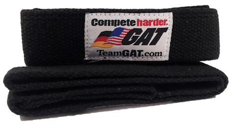 GAT GAT Lifting Straps, Black Color