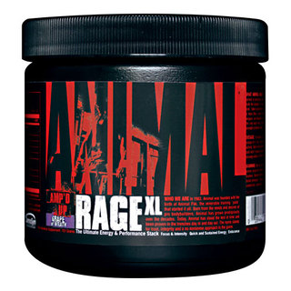 Universal Nutrition Animal Rage XL by Universal Nutrition, 30 Servings