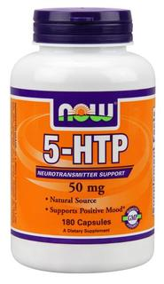 NOW Foods 5-HTP 50 mg., 180 Capsules