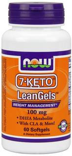 NOW Foods 7-Keto 100 mg. per gel, 60 Softgels
