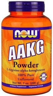 NOW Foods AAKG PURE POWDER, 7 Ounces
