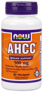 NOW Foods AHCC 500mg, 60 Vegi Capsules