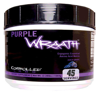 Controlled Labs PURPLE WRAATH, 45 Servings