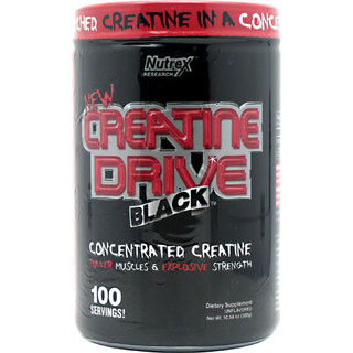 Nutrex Creatine Drive Black, 100 Servings