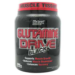 Nutrex Glutamine Drive Black by Nutrex, 200 Servings