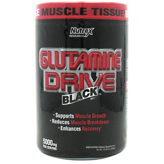 Nutrex Glutamine Drive Black by Nutrex, 60 Servings