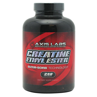 Axis Labs Creatine Ethyl Ester, 240 Capsules