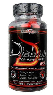 Innovative Laboratories Diablos Diablos ECA Fire Caps, 90 Capsules